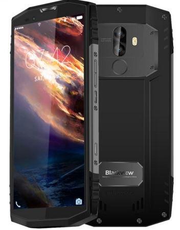 Blackview BV9000 - 5,7 pollici (rapporto 18: 9) IP68 Impermeabile antiurto per Android 7.1 smartphone, Octa core 2,6 GHz 4 GB + 64 GB, fotocamera tripla, batteria 4180 mAh - Grigio