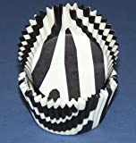 Zebra Print mini cupcake baking cups / liners 100ct