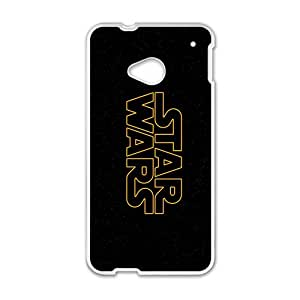 Cool-Benz Star Wars logos black background Phone case for Htc one M7