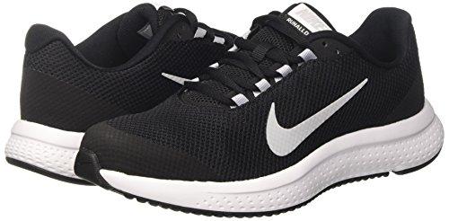 Nike Black Runallday Wolf Scarpe 001 Nero Grey Uomo White Running PTTWqg