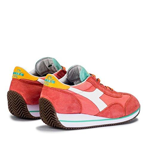 Diadora Equipe W SW HH corail/vert - chaussures femme - Rouge, 37