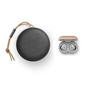 Bang & Olufsen Beosound A1 (2nd Generation) Portable Waterproof Bluetooth Speaker with Microphone, Black Anthracite with…