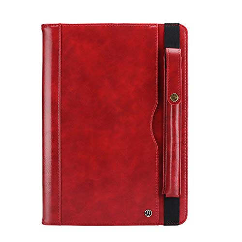 Case with Stand for ipad pro 12.9 2018,MeiLiio Full Body Protective Shockproof Case with Stand,Premium PU Leather Slim Protective Folio Cover for iPad Pro 12.9 Inch 3rd Gen 2018 Release,Red by MeiLiio (Image #8)