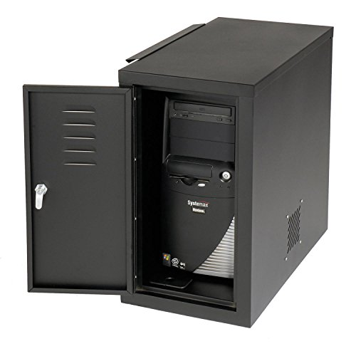 - Computer Cabinet Side Car, Black, 12