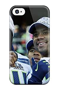 Hot FsWIkkm3232xsgpp Seattleeahawks Tpu Case Cover Compatible With Iphone 4/4s