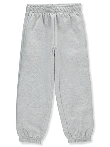 Premium Authentic Schoolwear Little Boys' Sweatpants - Gray, 5-6 - School Kids Sweatpants