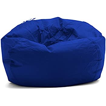 Swell Amazon Com Bean Bag Chair Large Microsuede Bean Bag Chair Ocoug Best Dining Table And Chair Ideas Images Ocougorg