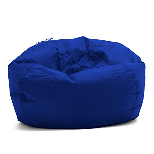 Teen Bean Bag Chair - Big Joe Bean Bag, 98-Inch, Sapphire