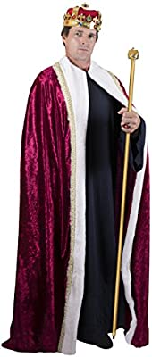 Kangaroo's Halloween Costumes - King's Regal Robe Costume