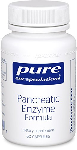 Pancreatic Enzyme Formula - Pure Encapsulations - Pancreatic Enzyme Formula - Hypoallergenic Supplement to Support Proper Digestive Function* - 60 Capsules
