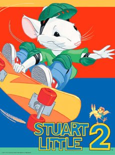 Peaceable Kingdom Poster Print - (18 x 24) Stuart Little Skateboard Quality Poster