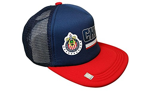 かんがい大人刑務所Chivas de Guadalajara Officialチームロゴキャップ/帽子 – cv008