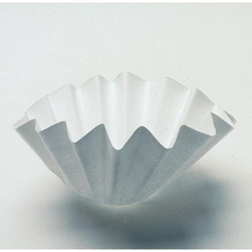 Whatman 1202-125 Quantitative Folded Filter Paper, 8 Micron, Grade 2V, 125 mm Diameter (Pack of 100) GE Healthcare