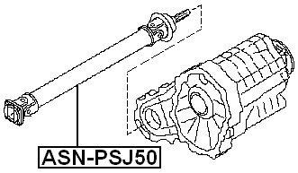 37200-Cl70A 37200Cl70A Drive Shaft Propeller Shaft For Nissan