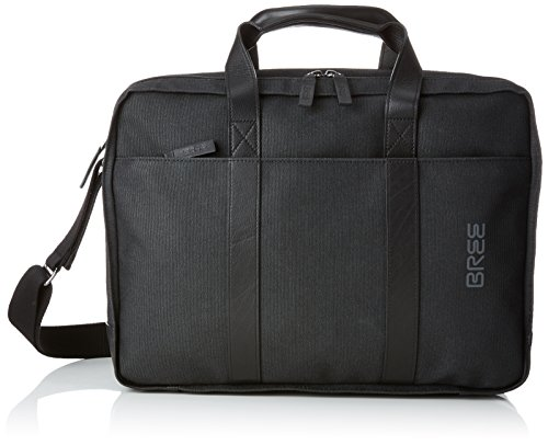 BREE Punch Casual 67, Anthra/black, Briefcase, Unisex Adults' Shoulder Bag, Grau (Anthra.), 13x30x40 cm (B x H T) (Bree Punch)