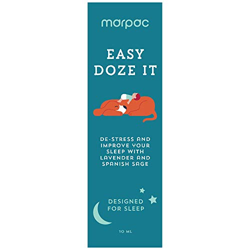 Marpac Yogasleep | Easy Doze It (Lavender Sage) | Natural Essential Oil Blend for Sleep & Relaxation | Premium Aromatherapy Sleep Scent Diffuser Oil | 10 ml