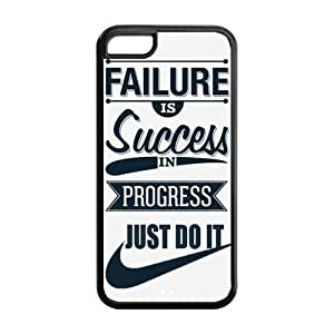 Success in Progress Just Do It NIKE Quote Hot TPU iPhone 5C Case Back Cover at Surprise you Store Kimberly Kurzendoerfer