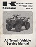 2012 KAWASAKI ATV BRUTE FORCE 750 4X4i EPS SERVICE MANUAL 99924-1446-31 (939)