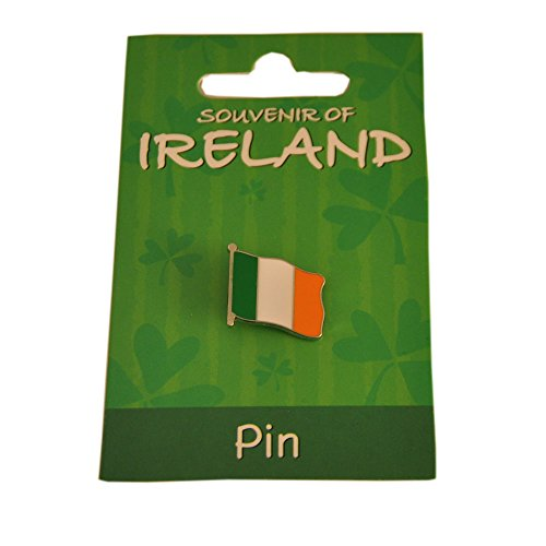 Carrolls Irish Gifts Tri Colour Metal Flag Lapel Pin 1.5Cm X 2Cm