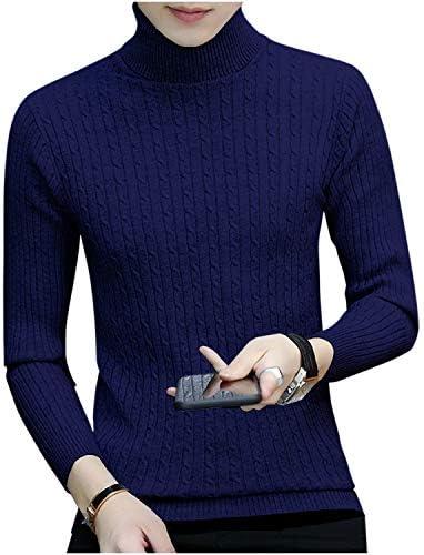【在庫処分】 [ゴスファング] セーター ニット ケーブル編み タートルネック 長袖 オシャレ シンプル M ~ XL メンズ