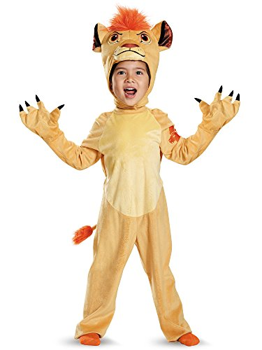 [Disguise Kion Deluxe Toddler The Lion Guard Disney Costume, Large/4-6] (King Toddler Costume)