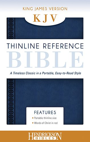 Holy Bible: King James Version, Midnight Blue, Thinline Reference pdf