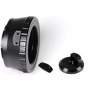 DSLRKIT - Adaptador de montura de lente M42 a Micro 4/3 con montura de trípode GF3 G3 GH2 E-P3 PL3