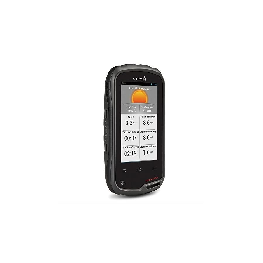 Garmin Monterra Wi Fi Enabled GPS Navigator