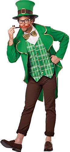 (California Costumes Men's Lucky Leprechaun Theme Party Outfit Halloween Costume, L)