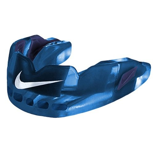 Nike Hyperflow Mouthguard, Adult, with Flavor, Blue Raspberry