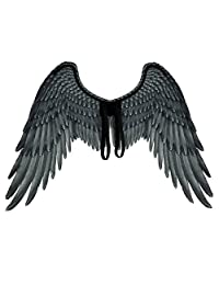 Facaily Non-Woven Fabric 3D Angel Wings Halloween Theme Party Cosplay Costume Accessories for Adults Men Women