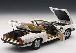 Jaguar XJ-S Cabriolet White 1/18 by Autoart 73571 by AUTOart (Image #1)