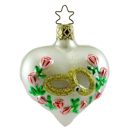 Inge-Glas The Promise Wedding Christmas Ornament