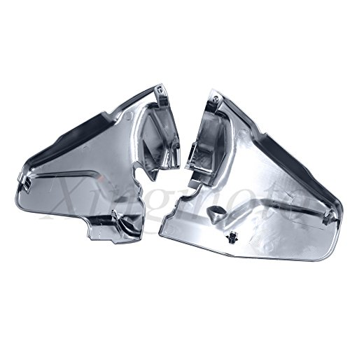 - NBX- Chrome Engine Lower Side Frame Covers For Compatible with Honda Goldwing GL1800 2001-2011 02 03