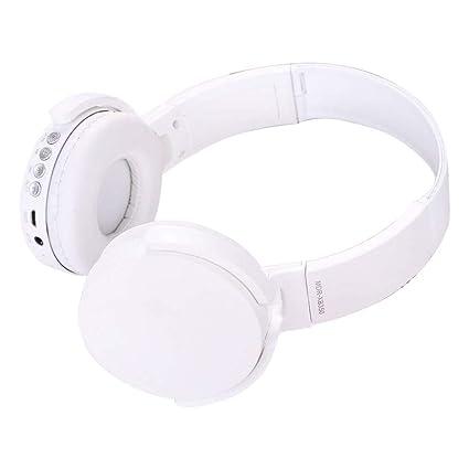 SamMoSon 2019 Auriculares Bluetooth Inalambricos Deportivos,Ver-Ear Teens con Micrófono Auriculares Plegables para