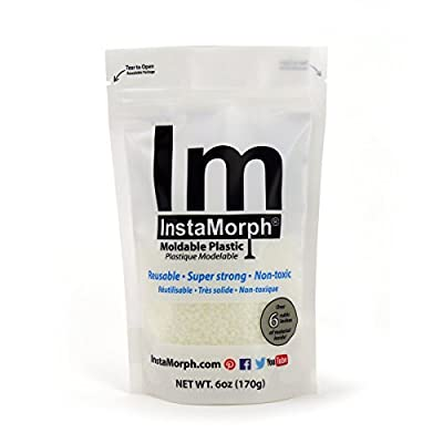 InstaMorph - Moldable Plastic - 6 oz from Happy Wire Dog LLC