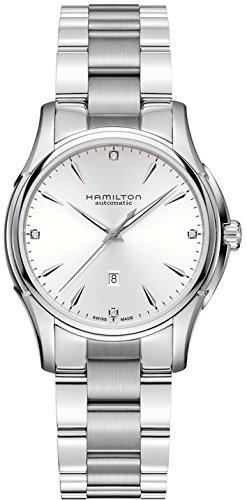Hamilton Jazzmaster Automatic Diamond Silver Dial Ladies Watch H32315111 (Lady Hamilton Watch)