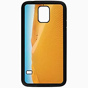 Unique Design Fashion Protective Back Cover For Samsung Galaxy S5 Case Desert Background Nature Black