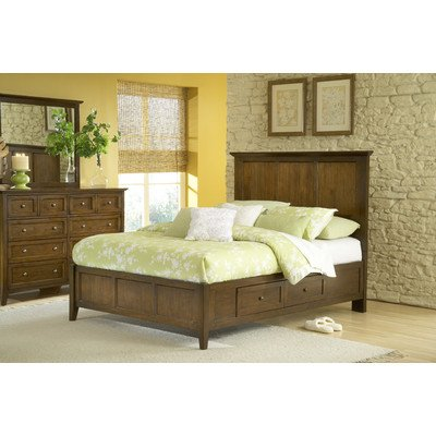 Modus Furniture Paragon 4-Drawer Storage Bed, Truffle, Full from Modus Furniture