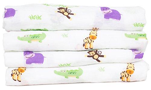 Swaddle Blanket Lilbaby Organic Muslin