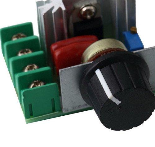 220v 2000w SCR Voltage Regulator Motor Dimmers Thermostat Speed Controller