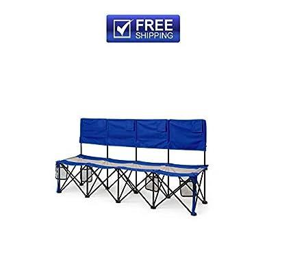 Surprising Amazon Com Camping Bench Seat Chair Folding Outdoor Evergreenethics Interior Chair Design Evergreenethicsorg