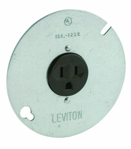 Best Costco Garage Door Opener - Leviton 5059 15-Amp, 125 Volt, 3-Wire