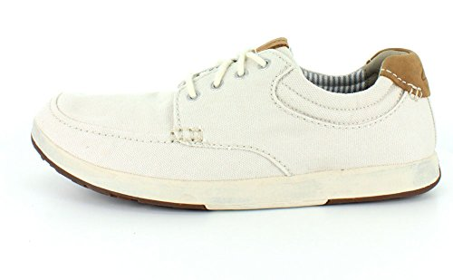 Clarks Norwin Vibe Oxford Off White