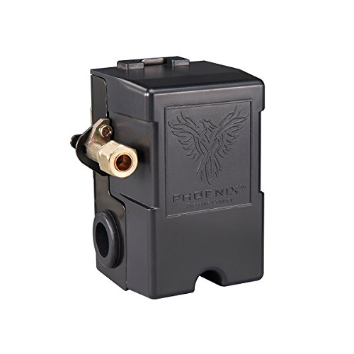Phoenix 69MB9Y 135/175 PSI 1-Port Air Compressor Switch with Unloader Valve (Furnas type)