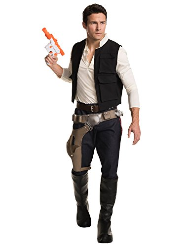 Original 2016 Halloween Costumes (Star Wars Classic Grand Heritage Han Solo Costume, Multi, Men's Standard)
