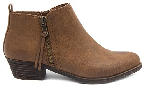 Tarragon Women's Bootie Brown Ankle Rampage zFOpgq