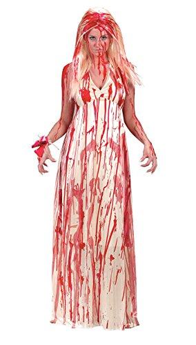 Fun World Women's Carrie Prom Nightmare Dress Costume, Multi, Small/Medium