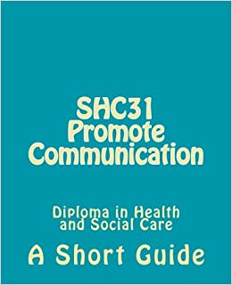 promote communication in health and social care