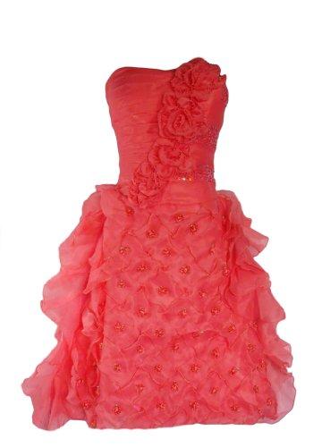 Damen Kleid Y Fashion Alivila Pfirsich AfUcSxWH